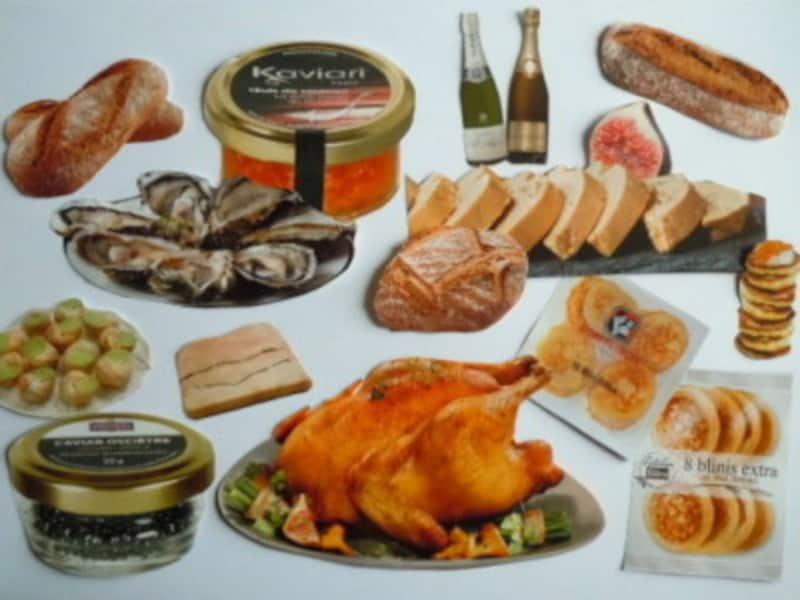 大晦日の晩餐に使われる食材