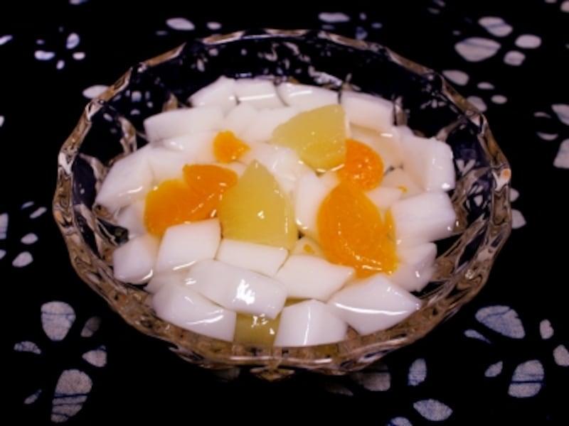 中華スイーツ「杏仁豆腐」