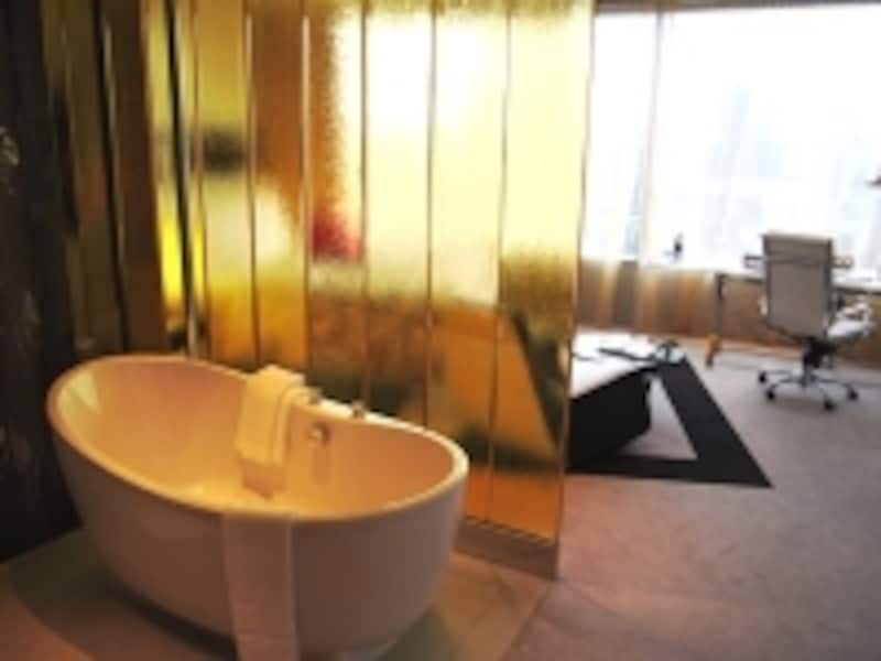 Wホテルのバスルーム