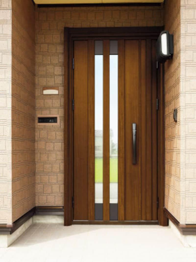 カバー工法で交換後の玄関ドア