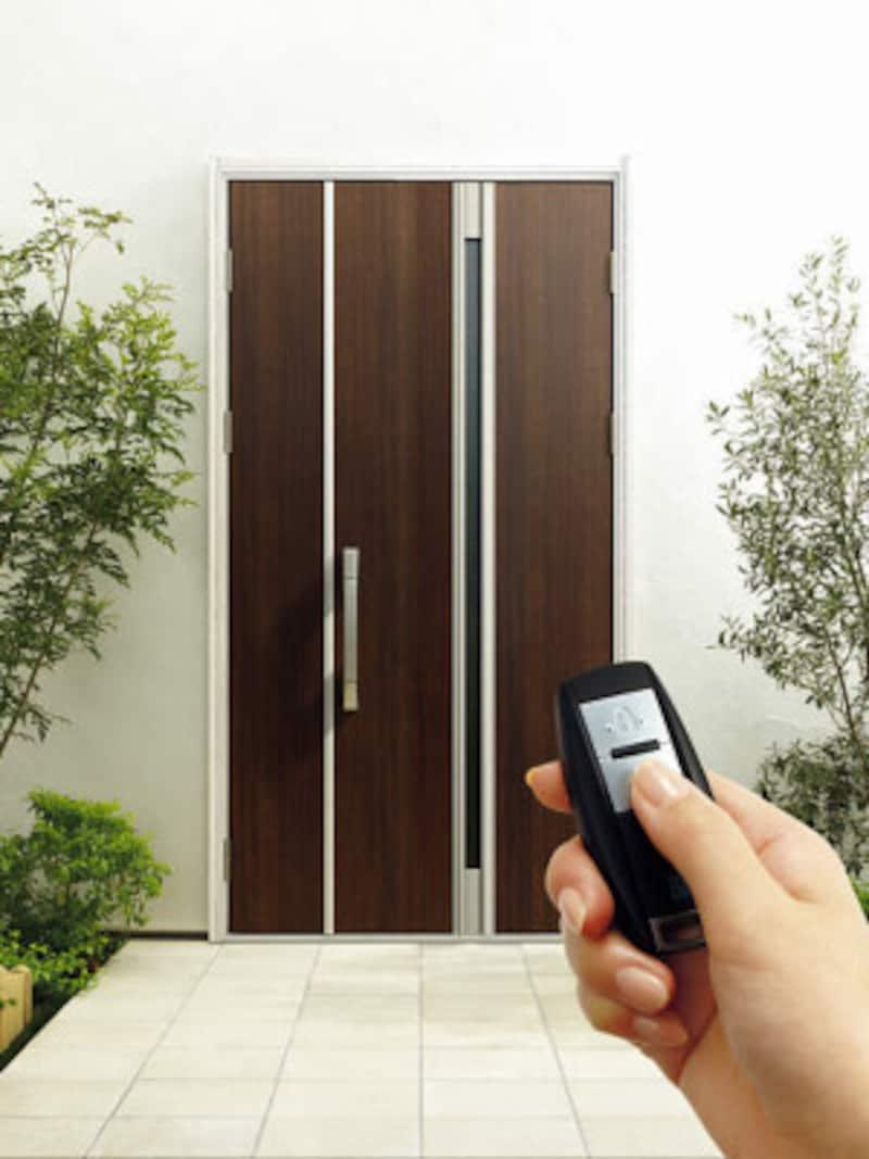 リフォーム用玄関ドアの鍵、スマートコントロールキー
