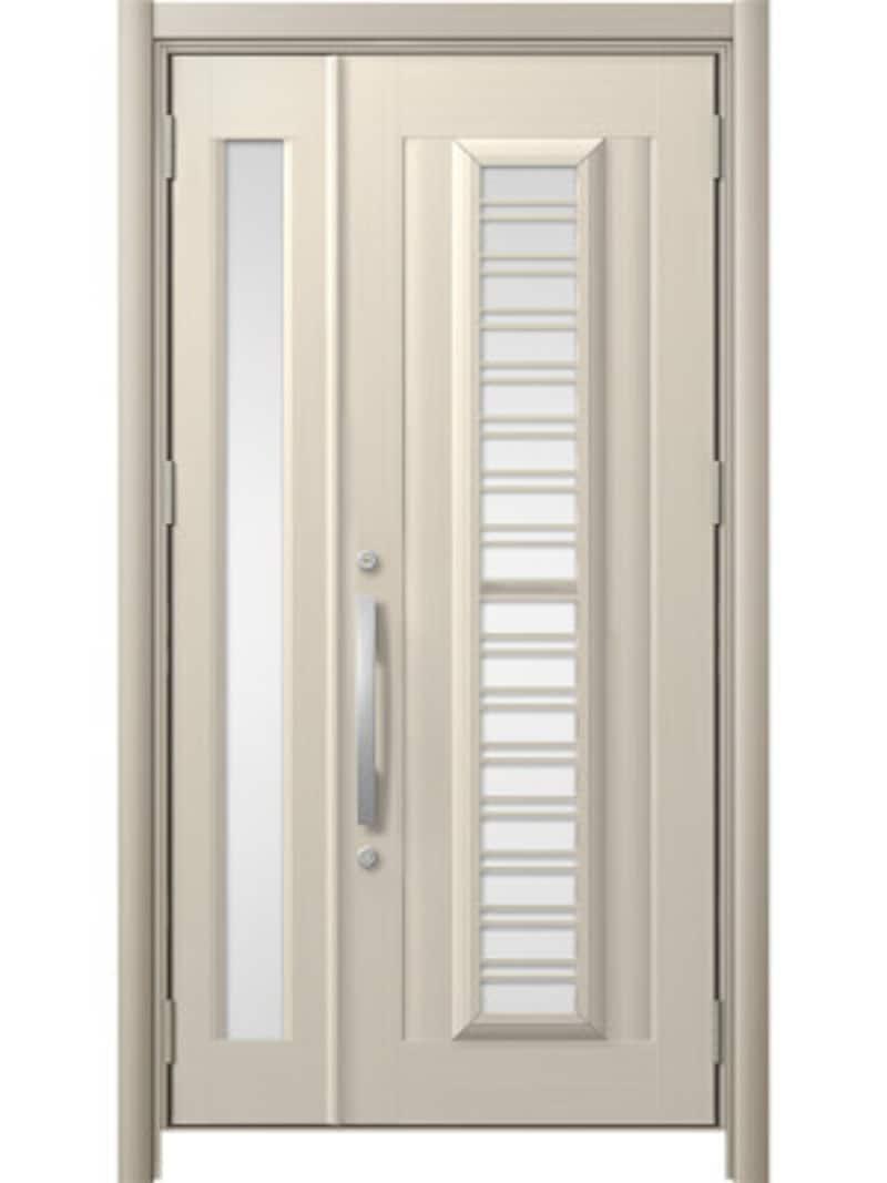 通風タイプのリフォーム用玄関ドア