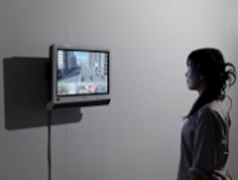 「overlap」2012年、socialkitchen(京都)での展示風景undefined撮影:表恒匡