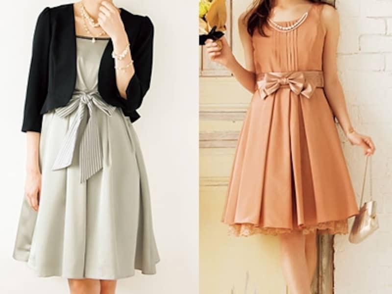 パニエ付ドレス