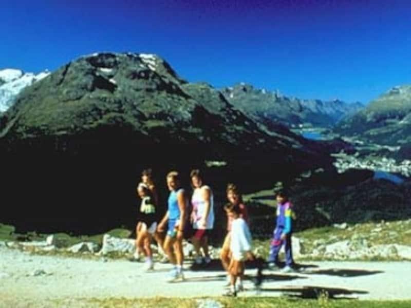 ポントレジーナ近郊のハイキングコース