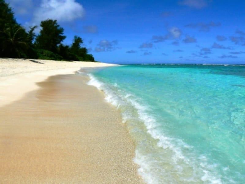 近場といって、見くびれないのがグアムの海!