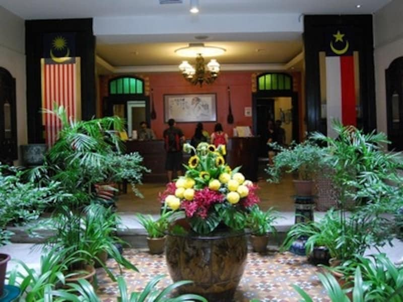ホテル・プリ・マラッカのロビー