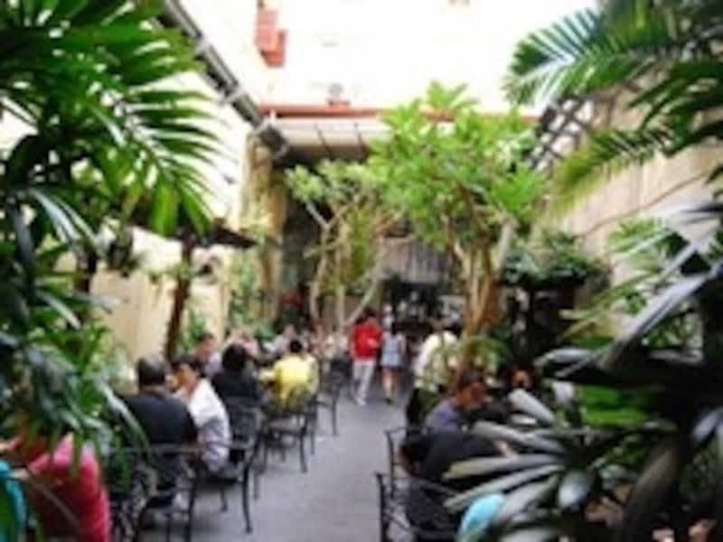 ホテル・プリ・マラッカの中庭