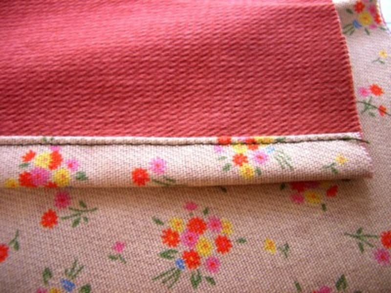 三つ折り縫いをきれいに仕上げるには?