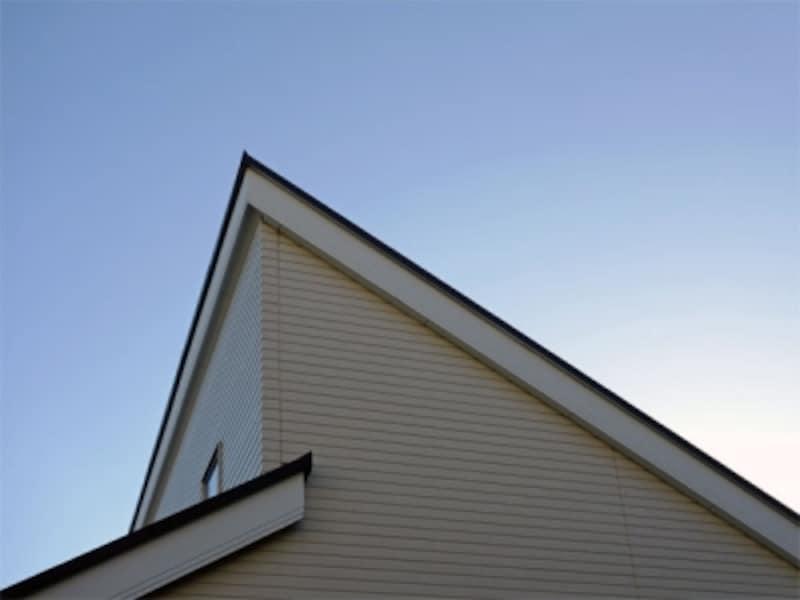 差し掛けの屋根