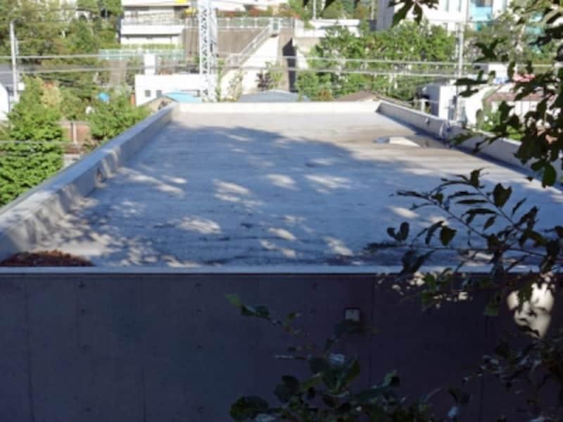 陸屋根の例