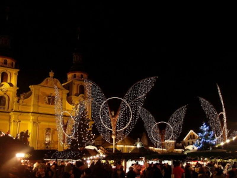 ルートヴィヒスブルクのクリスマスマーケット