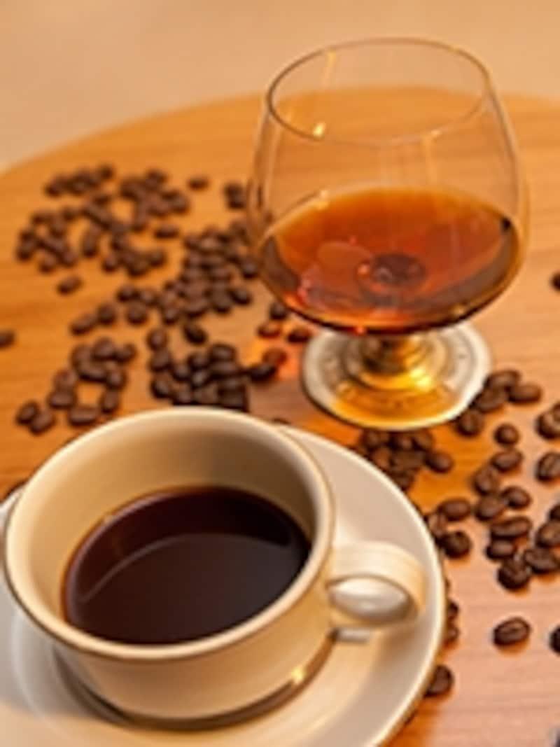 コニャックとコーヒー