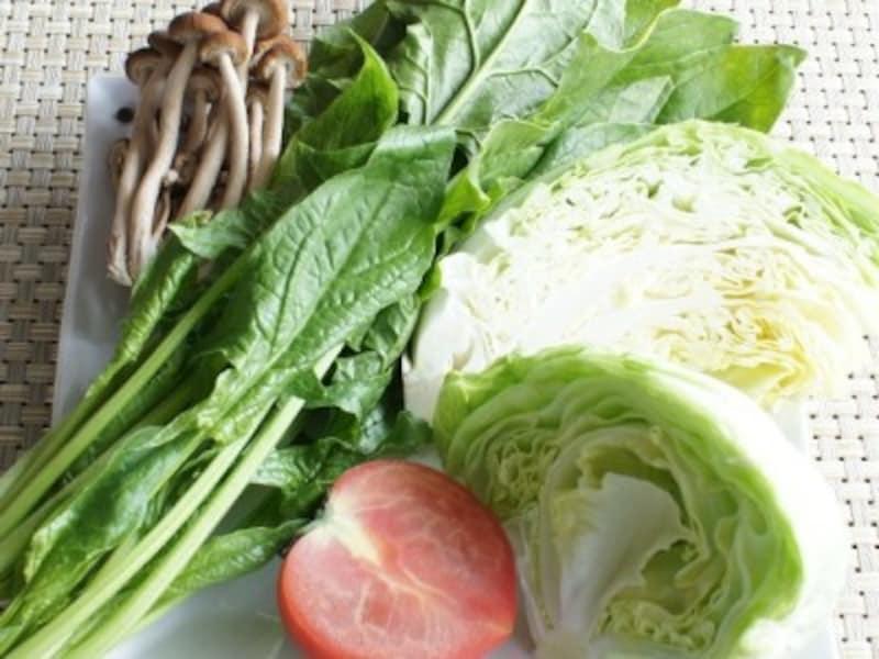 ダイエットに効果的な野菜とは