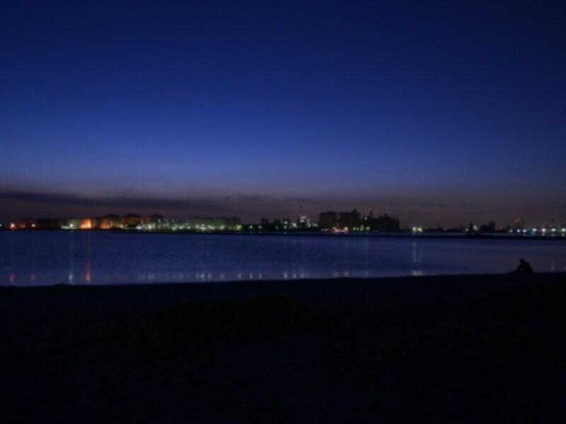 夕暮れ時の散歩はお勧め