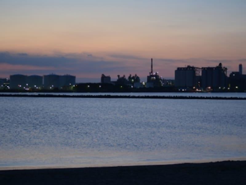 千葉ポートパークの海岸
