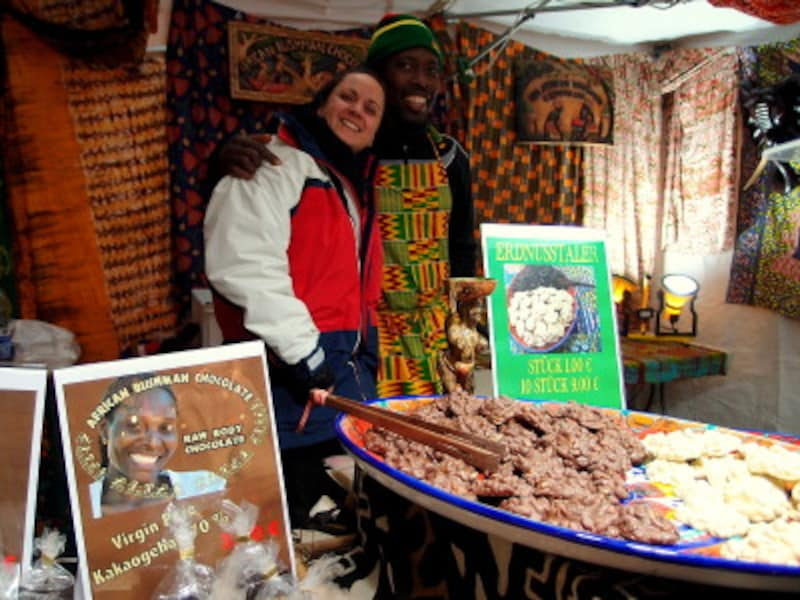 アフリカからやってきたチョコレート