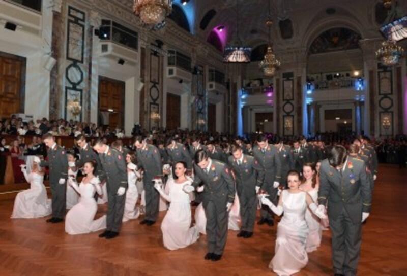 オーストリア連邦軍の舞踏会