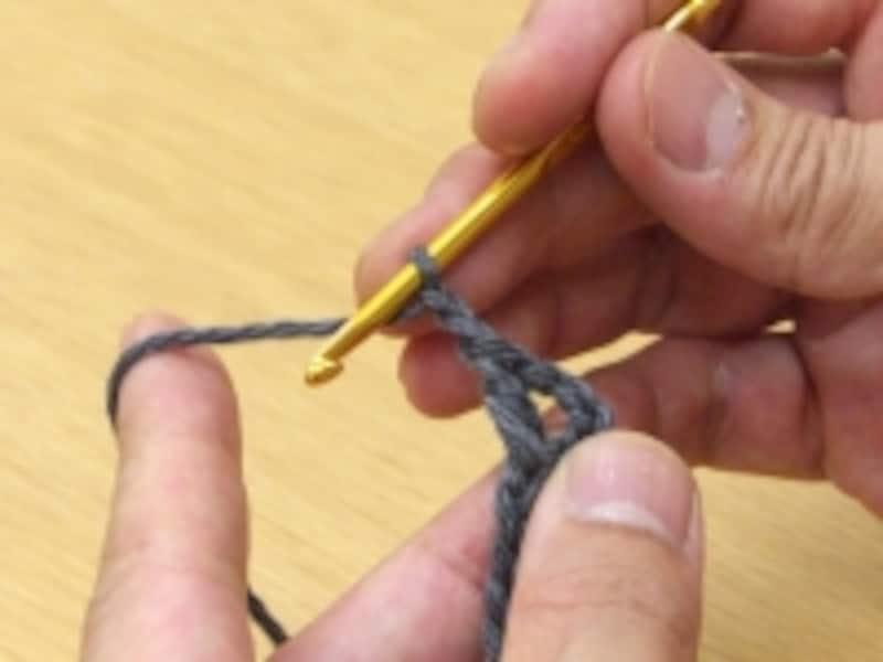 鎖編み2目