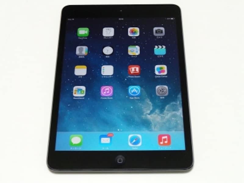 iPadminiReinaディスプレイモデル。スペースグレイ