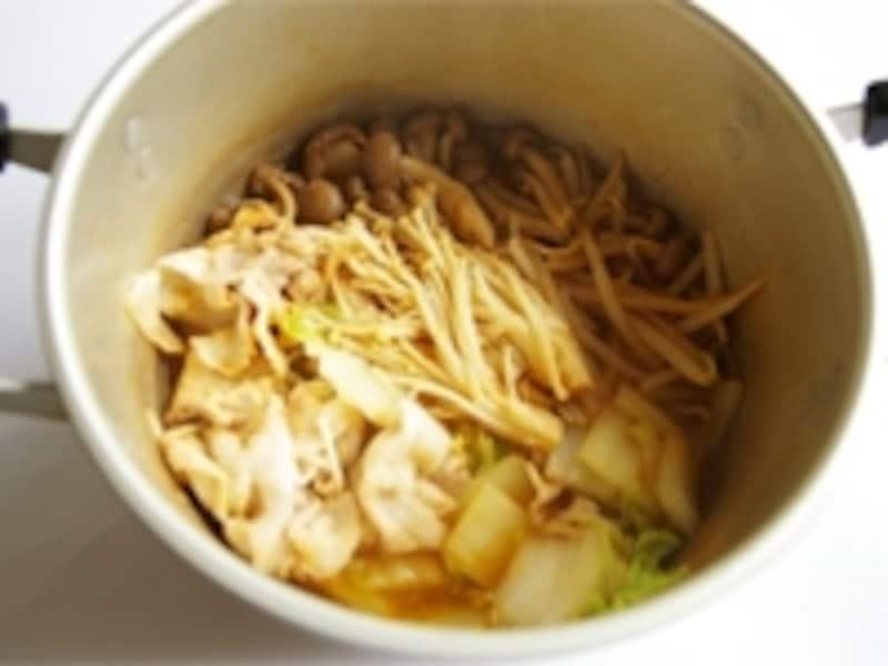 プチッと鍋・キムチ鍋