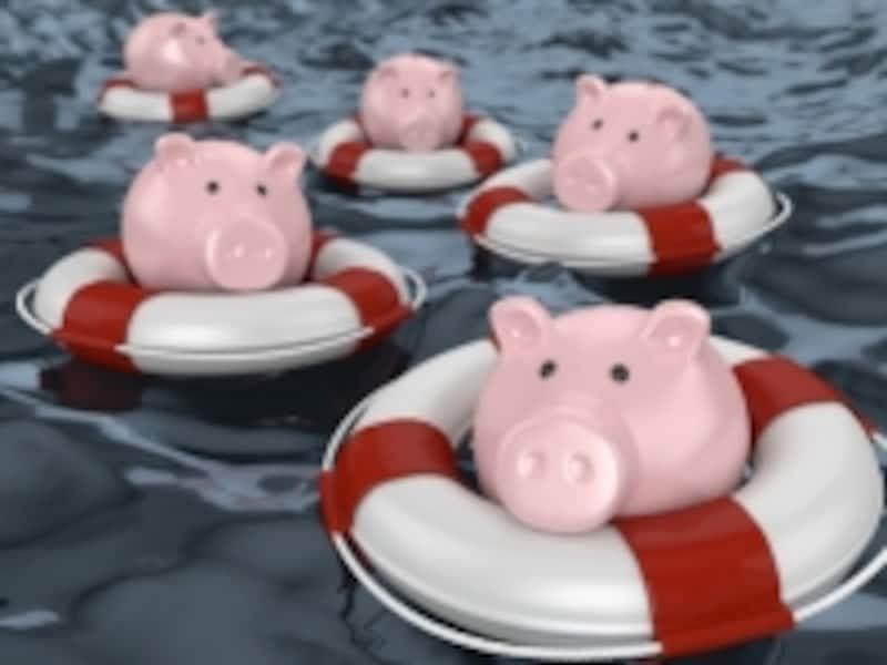気が付くと親ともども、赤字家計の海にドップリと……