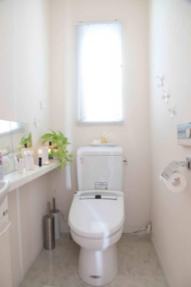 トイレのフタは閉めましょう