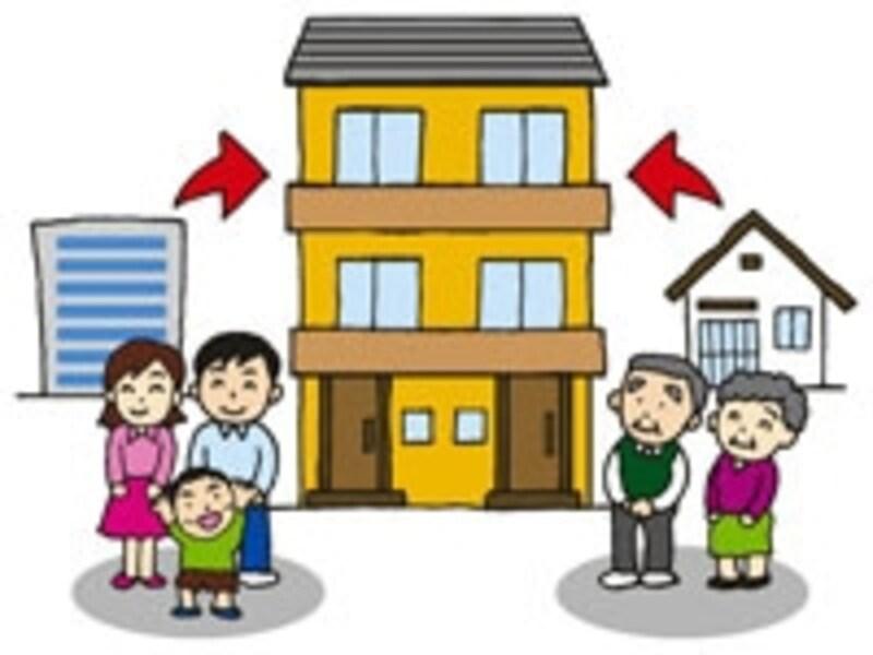 二世帯にすることで更に生活が向上するというメリットを強く意識して計画している人が多い。
