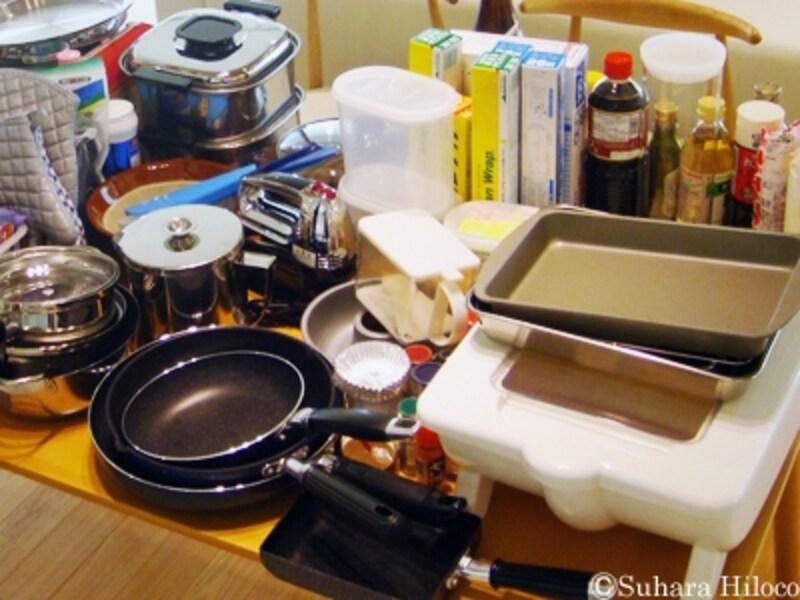 調理道具の片付け方