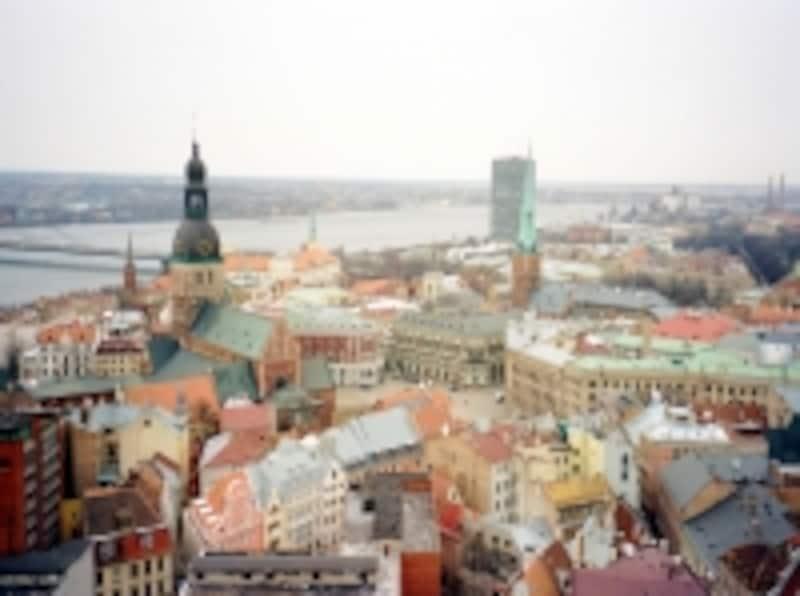 旧ソ連のバルト三国もシェンゲン協定加盟国(写真はラトビアの首都リーガの街並み)