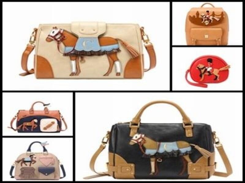 バッグのスタイルもデザインもいろいろ。韓流オシャレを楽しむなら必須アイテムです!