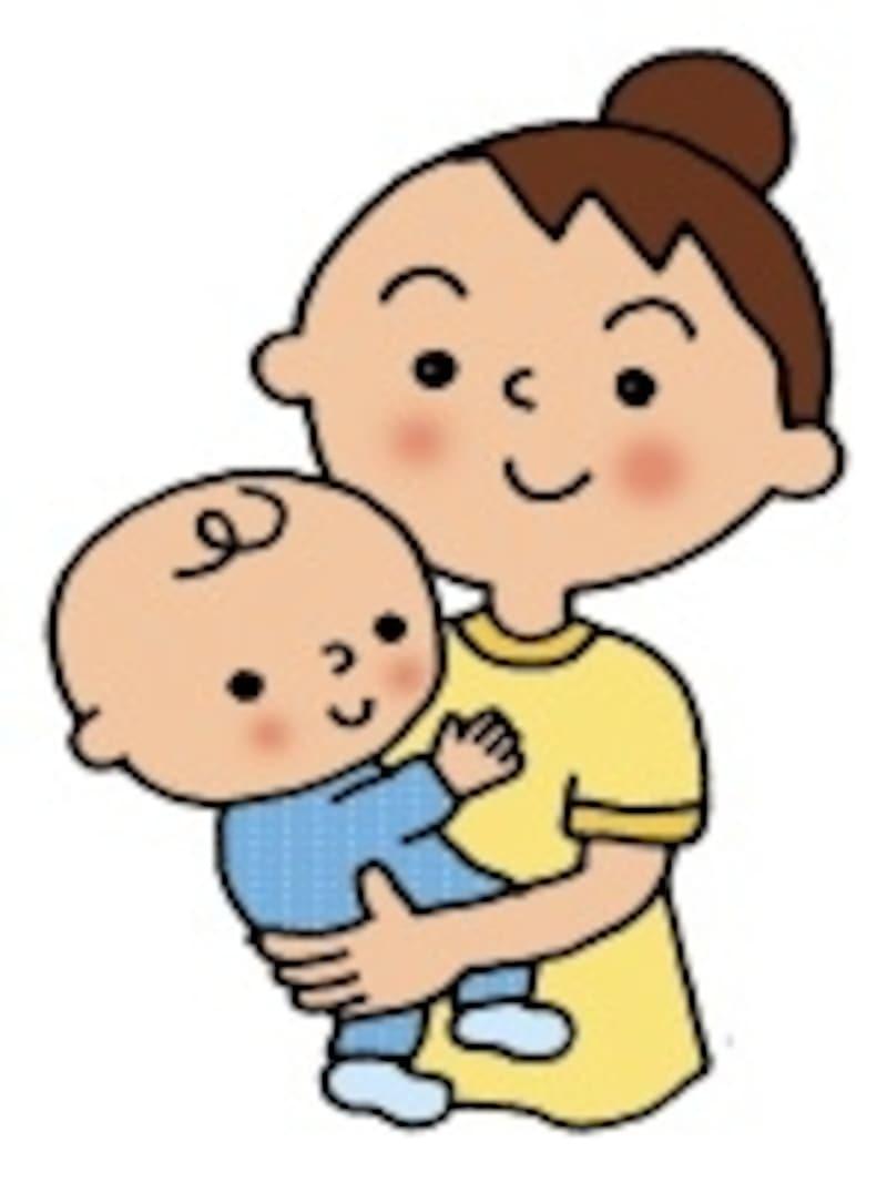 具合が悪いと小さいお子さんは泣くことが増えママの抱っこも増えることに