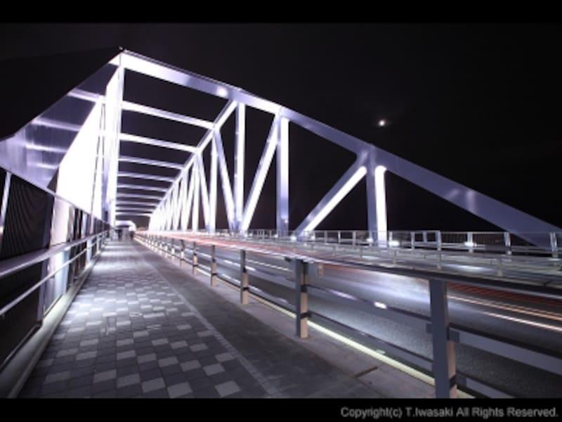 東京ゲートブリッジのトラス橋