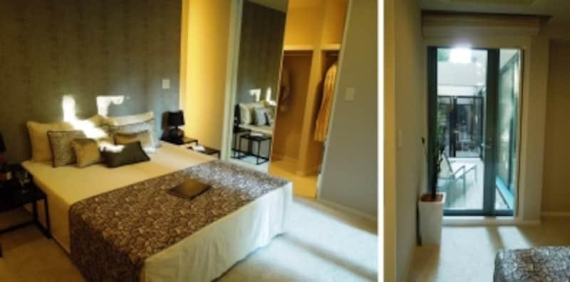 コンセプトルーム2の主寝室