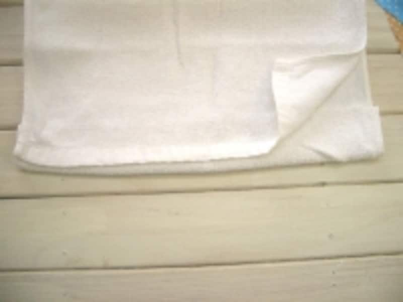 雑巾の作り方~折りたたむ