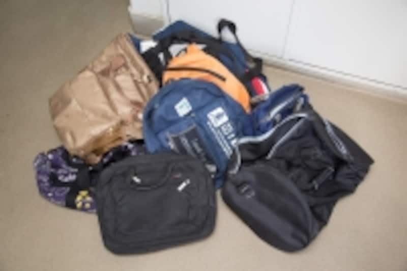 すべて優待でもらったバッグはお役立ち