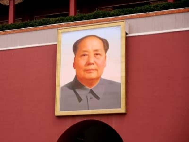 毛沢東(北京天安門)