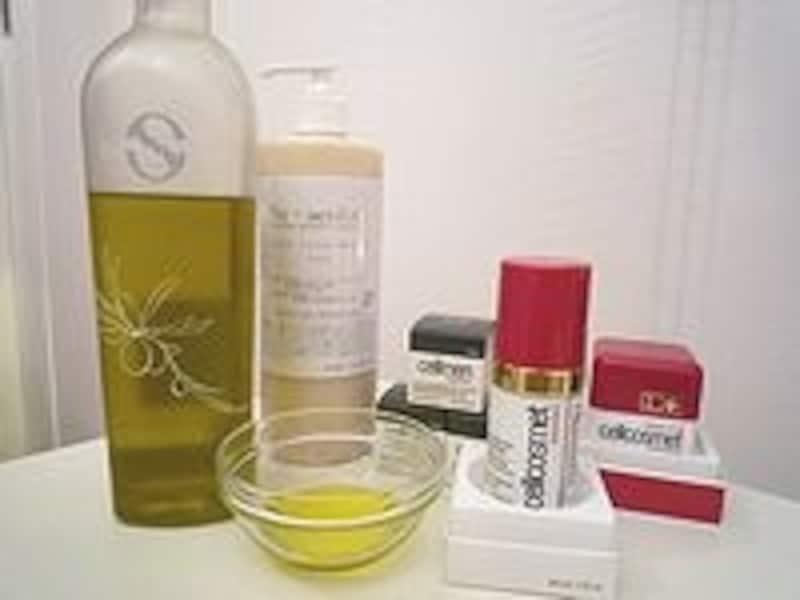 スイスのセルコスメやオーガニックのオイルなどサロンで使うオイルや化粧品にもかなりこだわりが