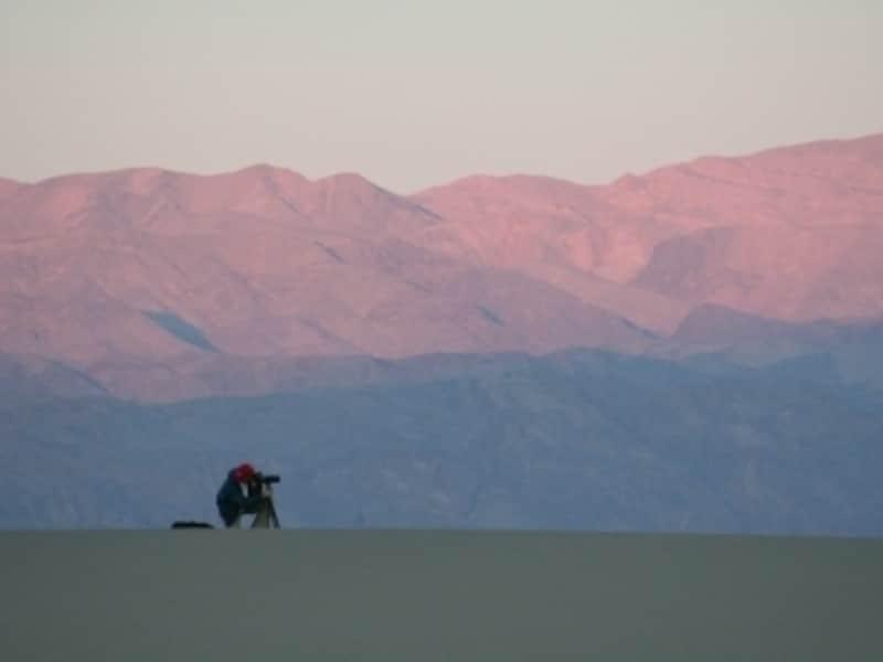 夏は気温が50度を超えるデスバレー国立公園