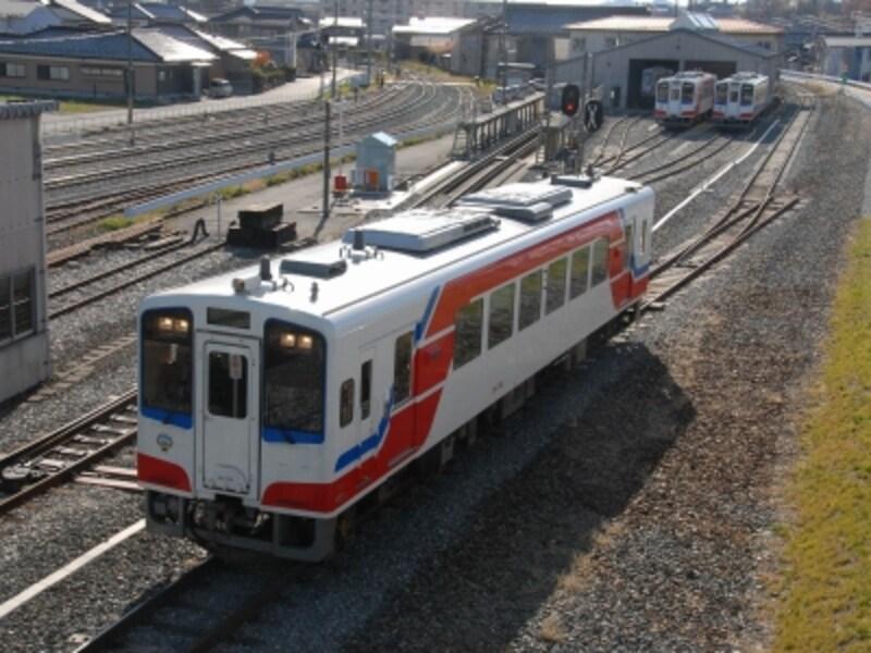 南リアス線の列車