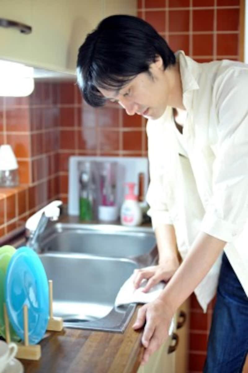 キッチンは家族の命を支える料理をつくり出す場なので、大掃除も念入りに
