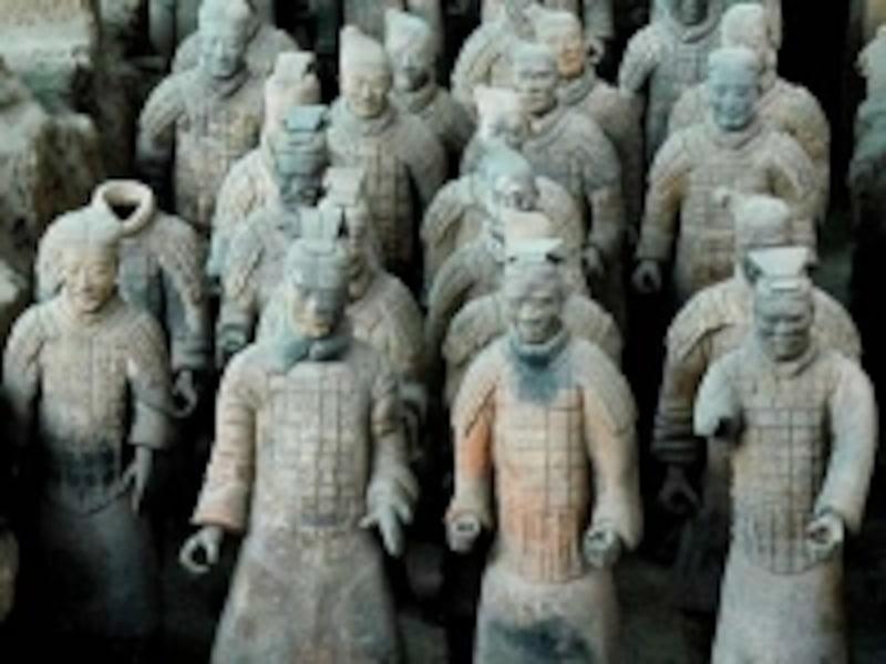 北京・西安旅行「兵馬俑」
