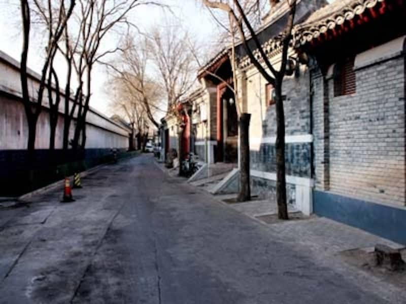 北京・西安旅行「后海」