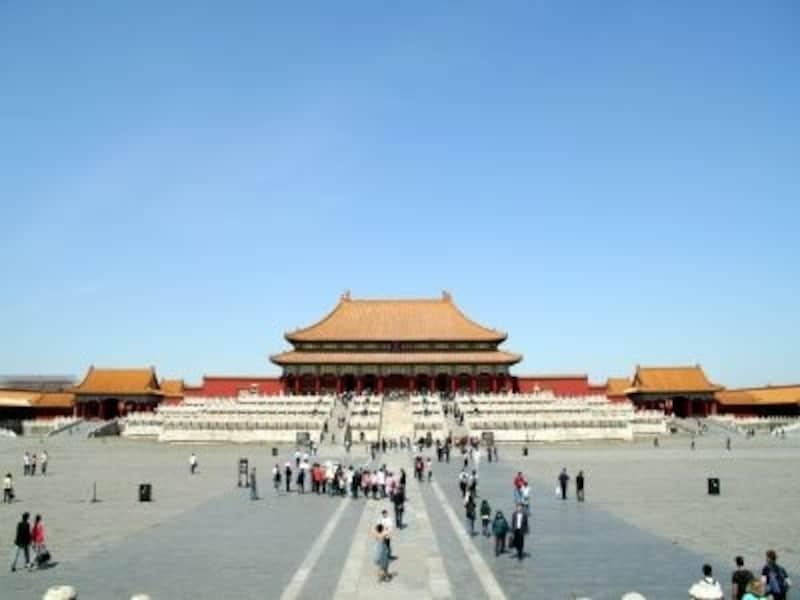 北京・西安旅行「故宮博物院(紫禁城)」