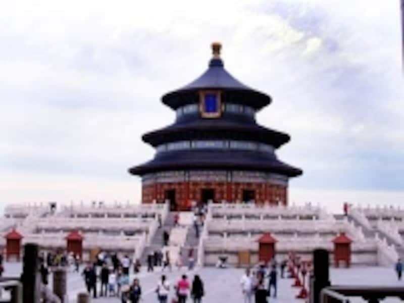 北京・西安旅行「天壇公園」