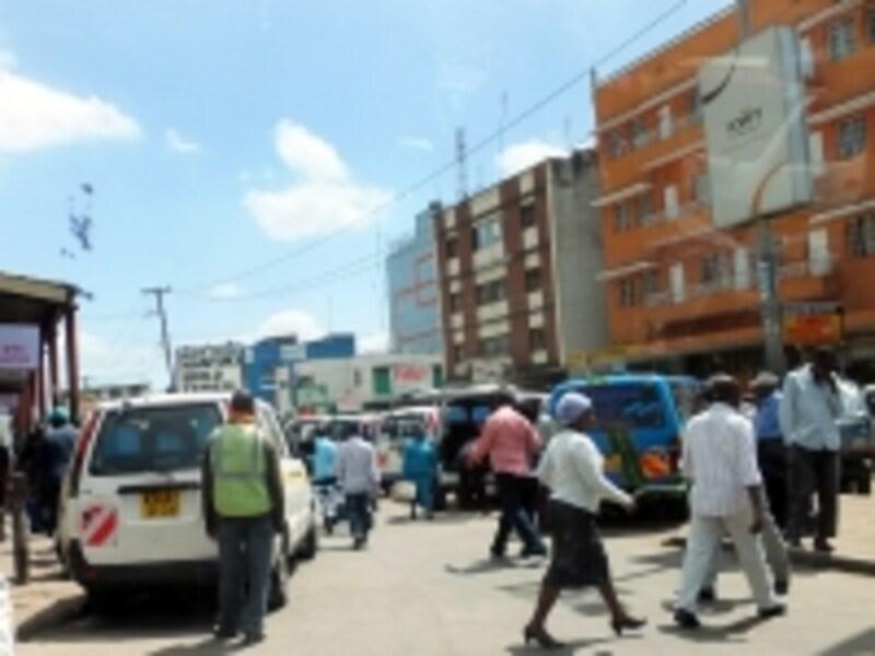 ナイロビのダウンタウン