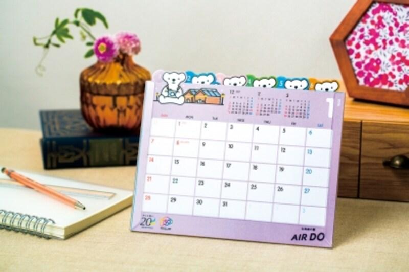 カレンダー,2018,エアドゥ