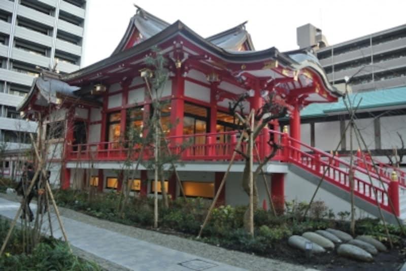 成子天神社の本殿