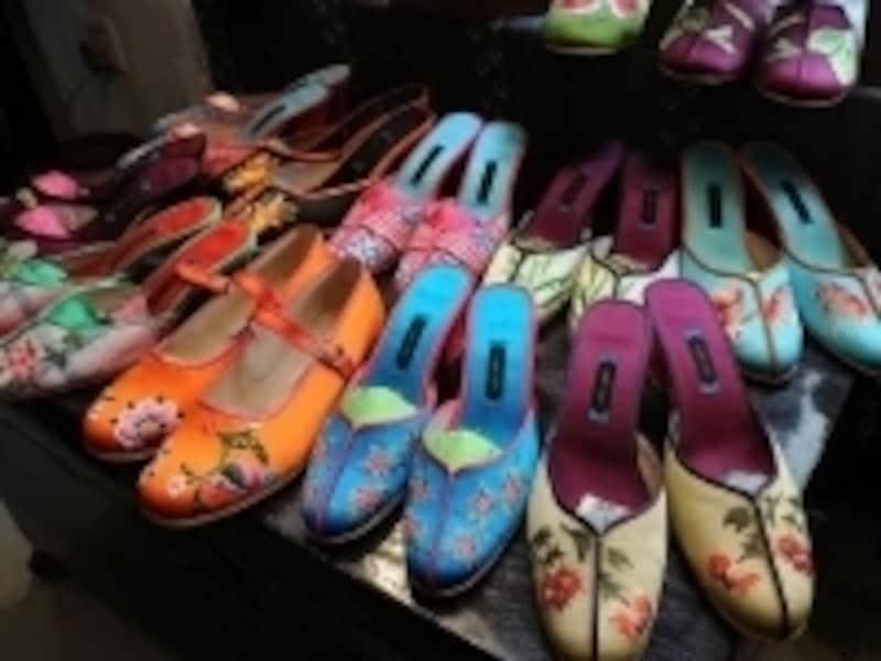 靴は自分のサイズに合わせてオーダーメイドすることも可能