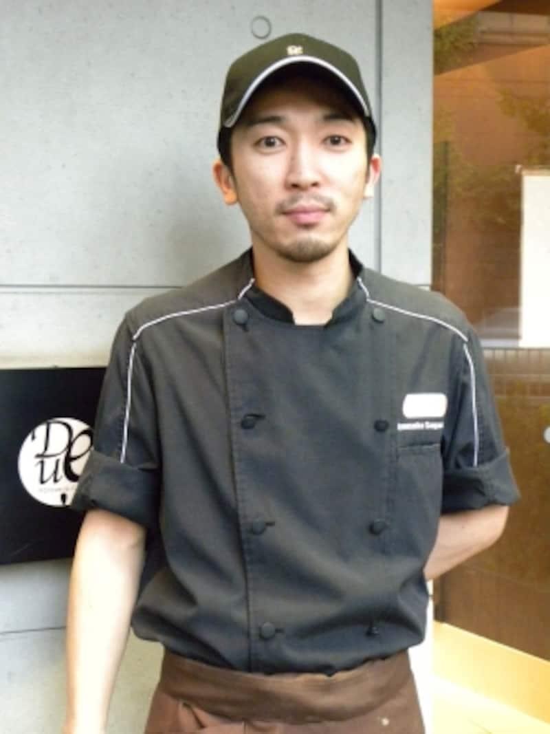 「ドゥーパティスリーカフェ」オープンから6年間シェフパティシエを務めた菅又亮輔氏